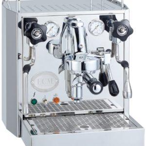 ECM 6988044 Barista Espressomaschine mit Wassertank, Edelstahl poliert - 1