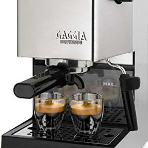 Gaggia RI9403/11 Siebträger Espressomaschine, Dampfdüse, Edelstahl - 1